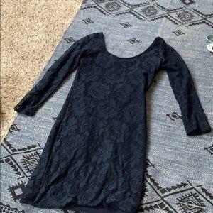 Blue Hollister dress